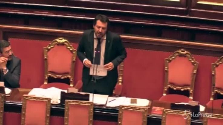 """Migranti, Salvini cita il Vangelo: """"Ama il prossimo tuo, ma il mio prossimo è anche italiano.."""""""