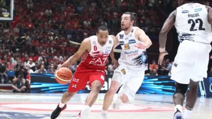 Venerdì Trento-Milano, gara 6 della finale scudetto di basket