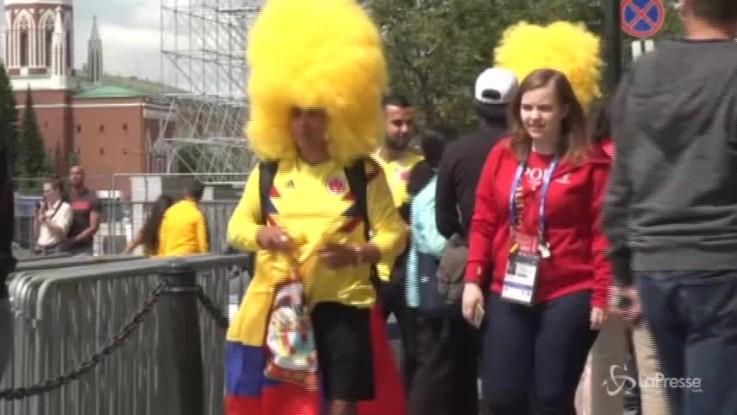 Russia 2018, i tifosi invadono la Piazza Rossa