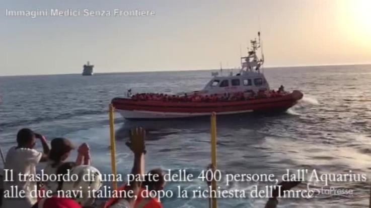Aquarius verso Valencia, il video delle ultime ore sulla nave