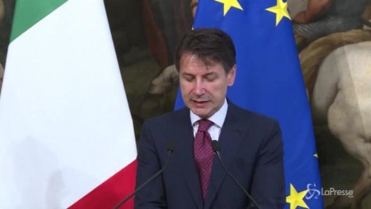 Conte va Parigi: pranzo da Macron