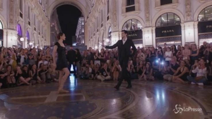 Bolle-Manni, tango in galleria a Milano