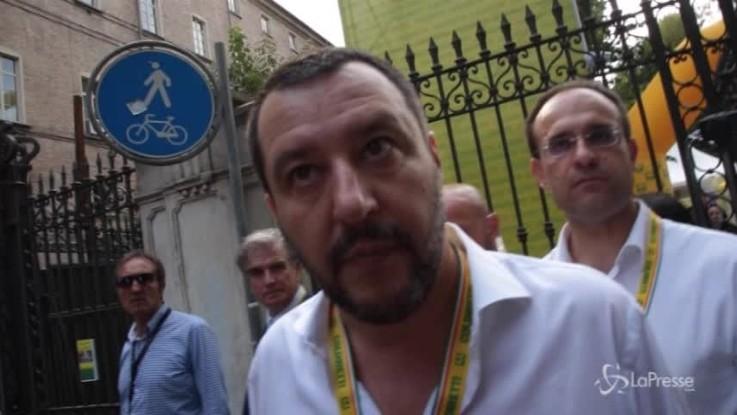 """Salvini: """"Prima gli italiani significa difendere la vita, il lavoro e la salute"""""""