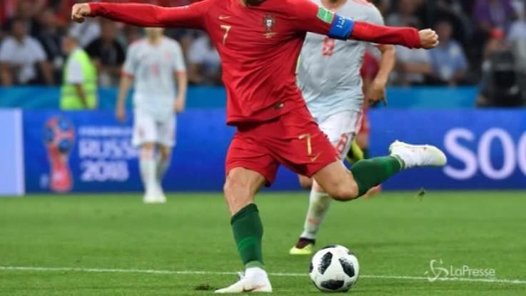Mondiali di Russia, subito la firma di Cristiano Ronaldo