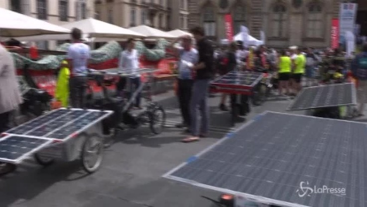 Da Lione a Canton: 13mila chilometri con bici a pannelli solari