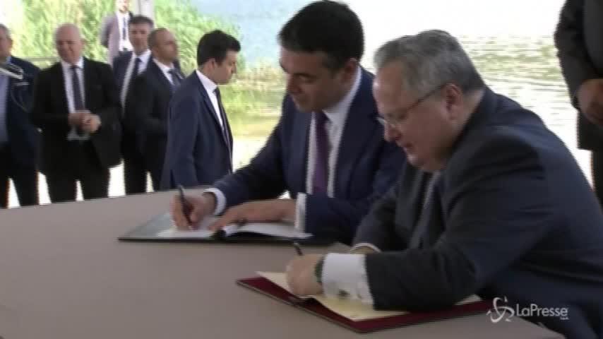 Macedonia e Grecia, c'è l'accordo per il cambio di nome dell'ex Paese jugoslavo