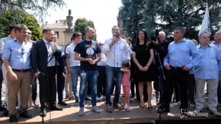 """Salvini: """"È finita la pacchia per i trafficanti di esseri umani"""""""
