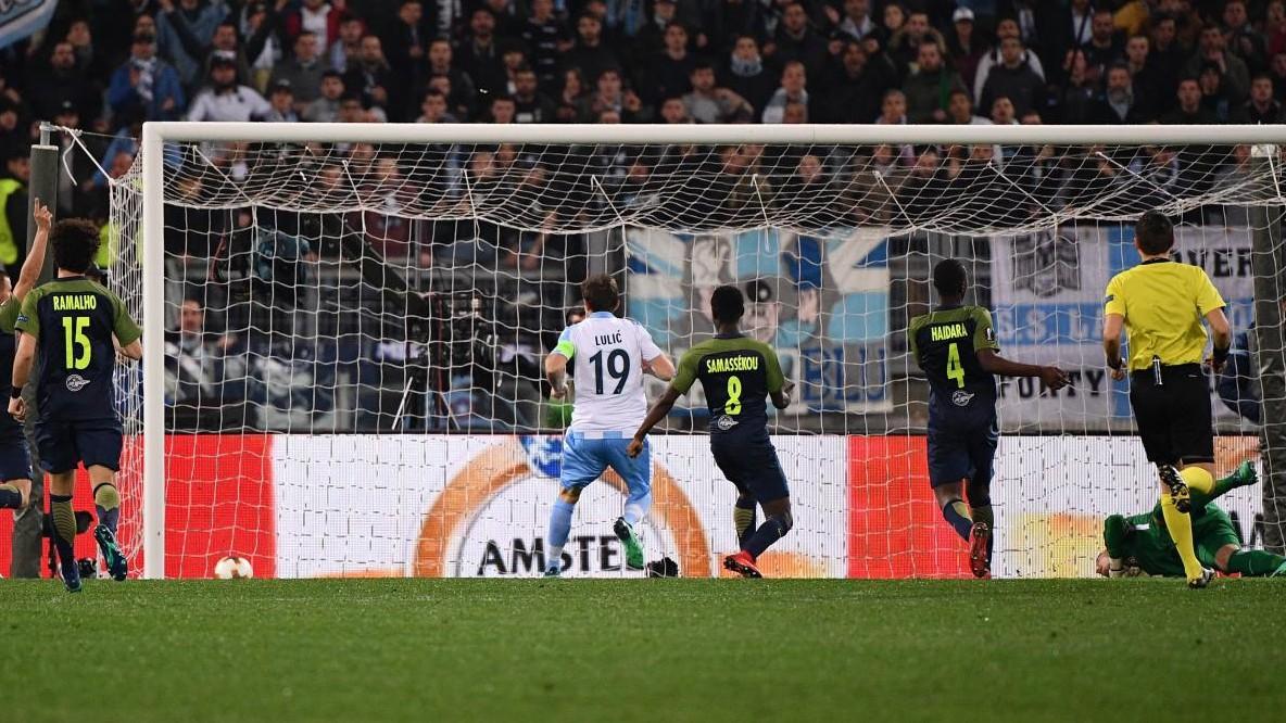 Grande Lazio, oltre l'arbitro e il Salisburgo: 4-2 all'Olimpico