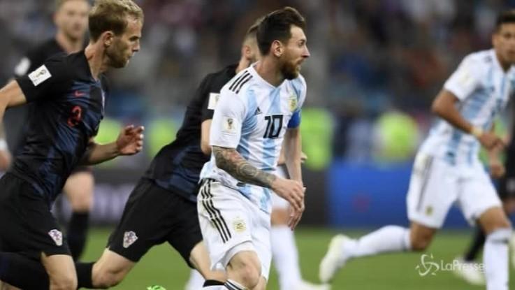 Mondiali, Argentina-Croazia 0-3