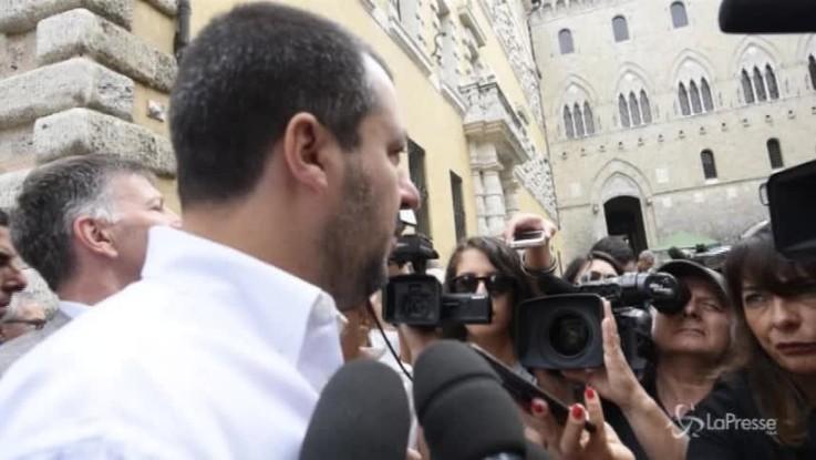 """Scorta a Saviano, Salvini: """"Sulla mafia rispondo coi fatti. Querele? Ho il cassetto pieno"""""""
