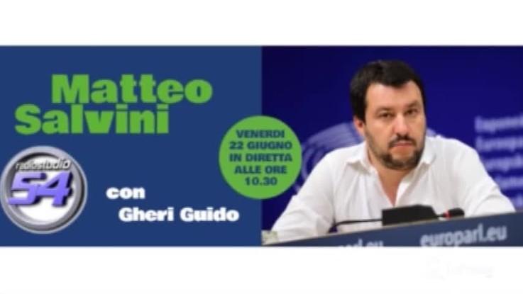 """Vaccini, Salvini: """"10 obbligatori sono inutili, dannosi e pericolosi"""""""