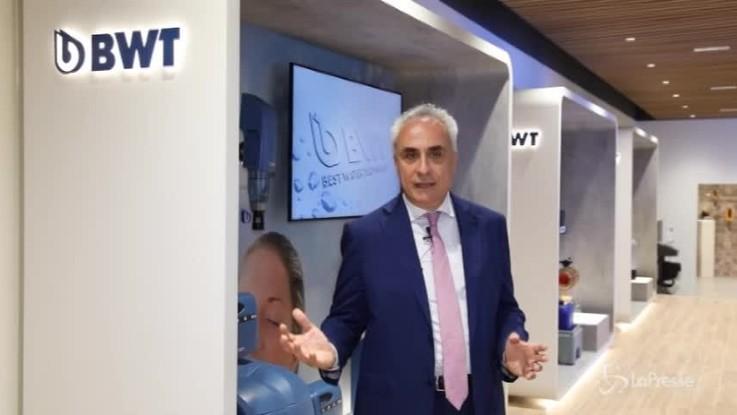 Acqua, produzione consumo consapevoli: lo showroom Bwt a Milano