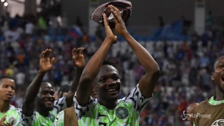 Mondiali, la Nigeria inguaia l'Argentina