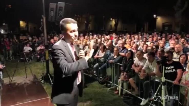 """Di Maio: """"La prossima settimana aboliremo i vitalizi agli ex parlamentari"""""""