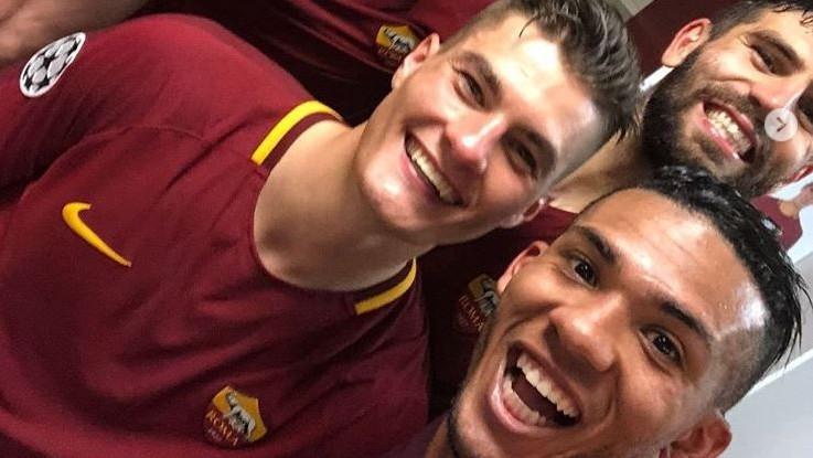 """""""Romuntada!"""": la gioia dei giocatori della Roma per l'impresa Champions"""