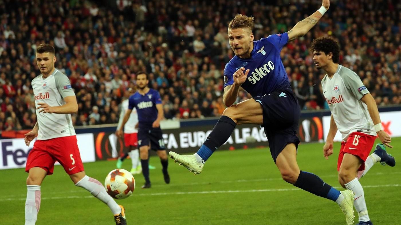 Europa League, Lazio che disastro. Il Salisburgo rimonta: 4-1