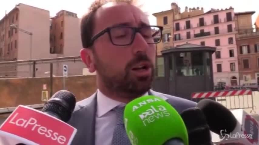 """Governo, Bonafede: """"Col Pd finalmente si può parlare di temi"""""""