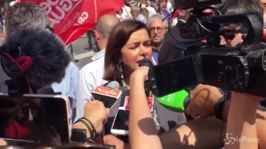 """Governo, Boldrini: """"M5S-Pd, unione innaturale. Ci vuole cautela"""""""