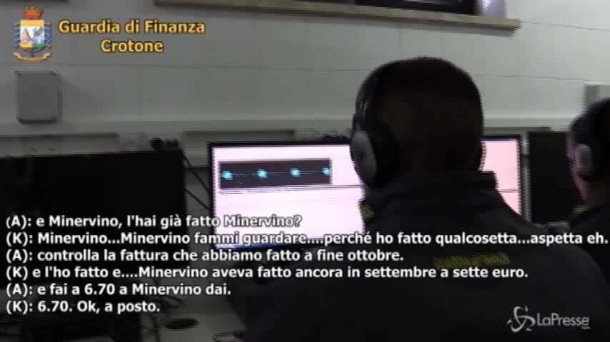 Frodi fiscali e riciclaggio di denaro tra Crotone e Verona