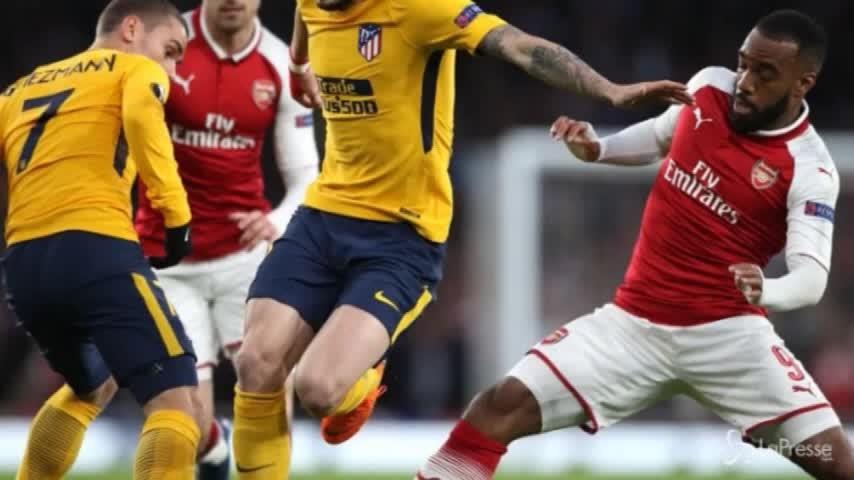 Europa League: vince il Marsiglia, pareggiano Arsenal e Atletico