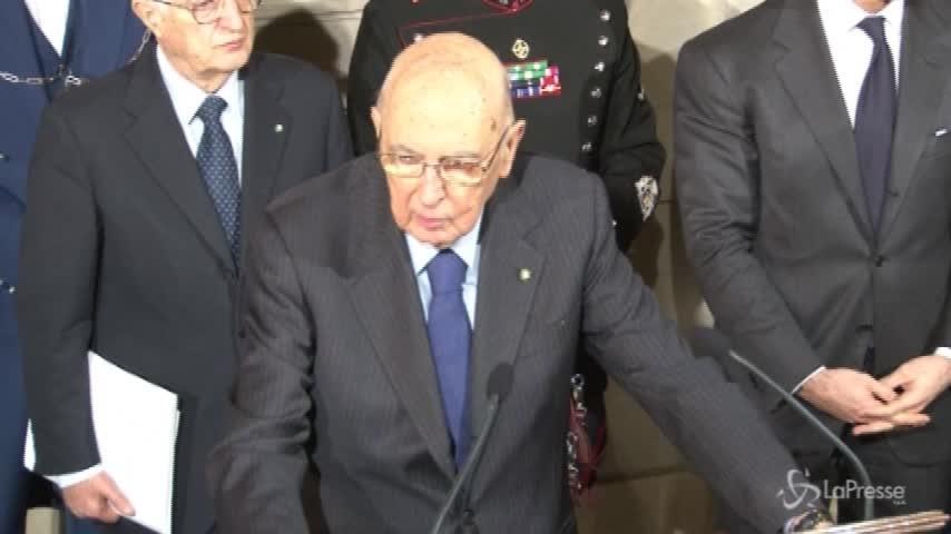 """Napolitano migliora: """"È in ottime condizioni"""""""