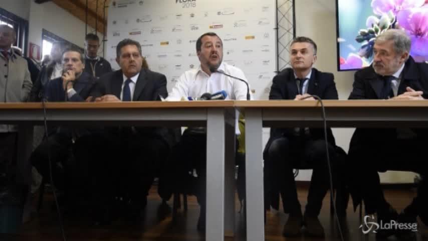"""Legge elettorale, Salvini: """"Un premio a chi prende un voto in più"""""""