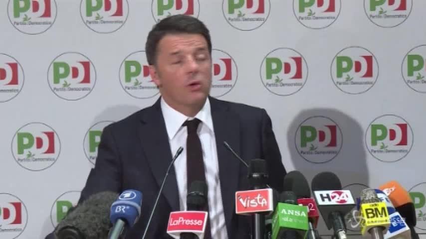 """Pd verso la direzione, Renzi: """"Ho numeri contro l'accordo"""""""