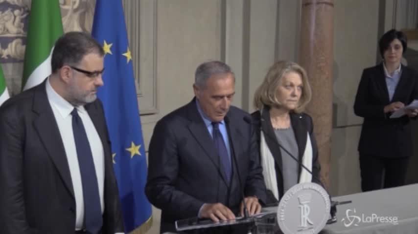 """Consultazioni, Grasso: """"Forze politiche irresponsabili e irrispettose"""""""