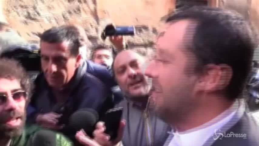 """Salvini: """"Berlusconi vuole il voto? Io ragiono con la mia testa"""""""