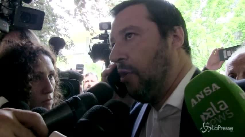 """Salvini su Mps: """"Banca massacrata da delinquenti non da contratto di governo"""""""