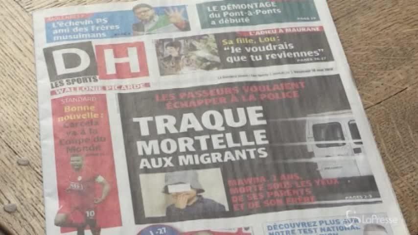 Belgio, bimba migrante uccisa durante inseguimento della polizia