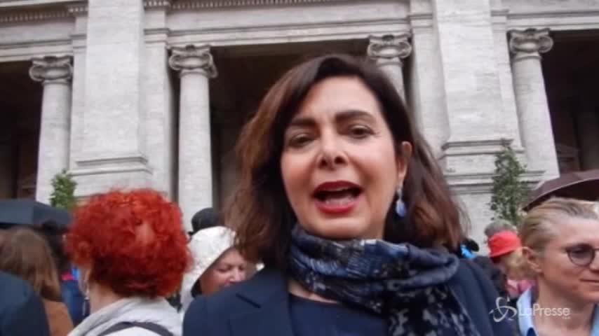 """Casa internazionale delle donne, Boldrini: """"Incomprensibile che lo faccia la prima sindaca della Capitale"""""""