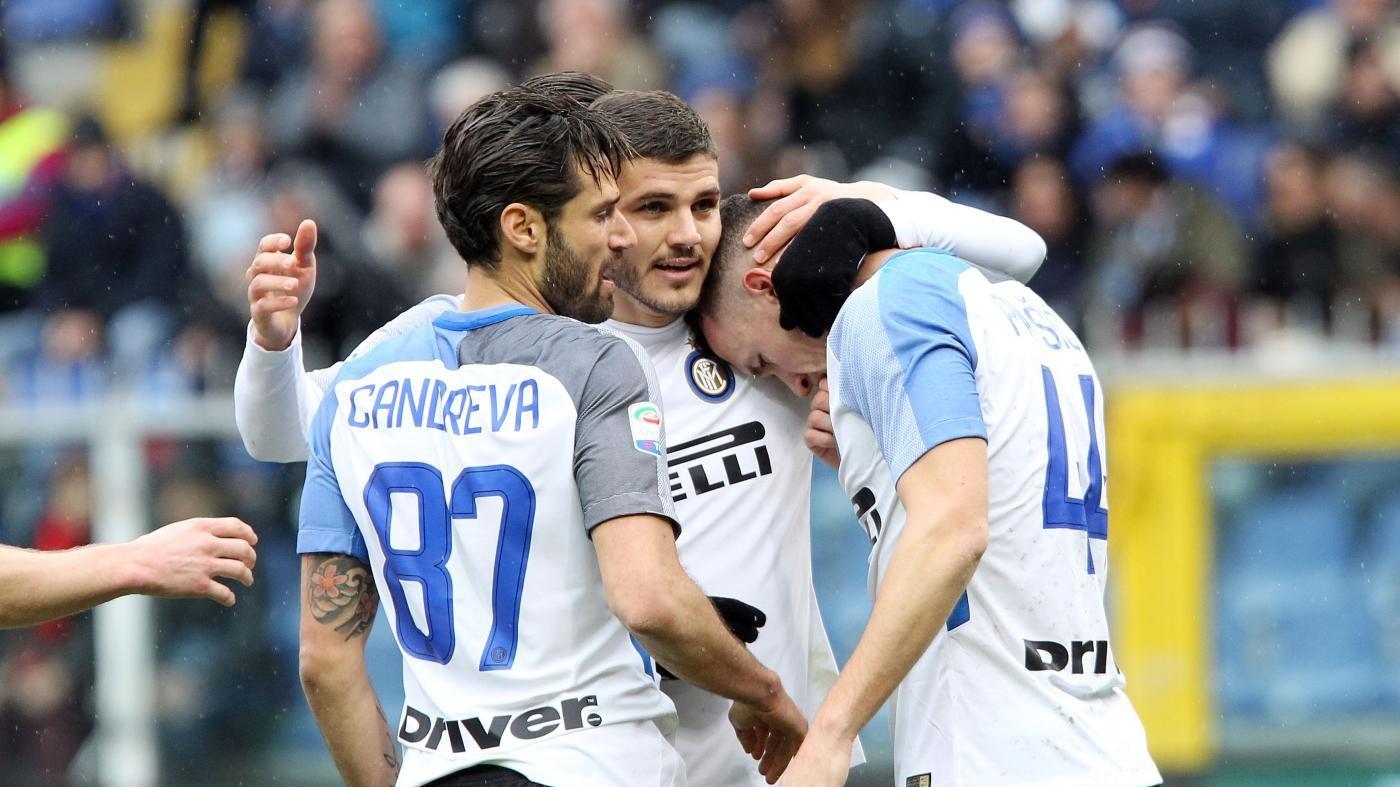 Icardi travolge la Sampdoria. Grande Inter: 5-0 a Marassi