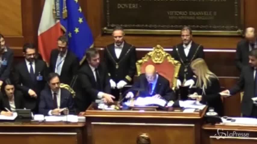 Gaffe di Napolitano, inciampa sul nome di Nanni Moretti