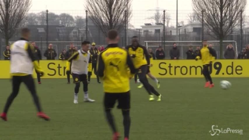 Bolt si allena con il Borussia e segna