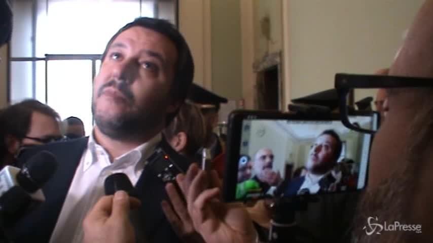 """Salvini: """"Pronto a fare il premier"""""""