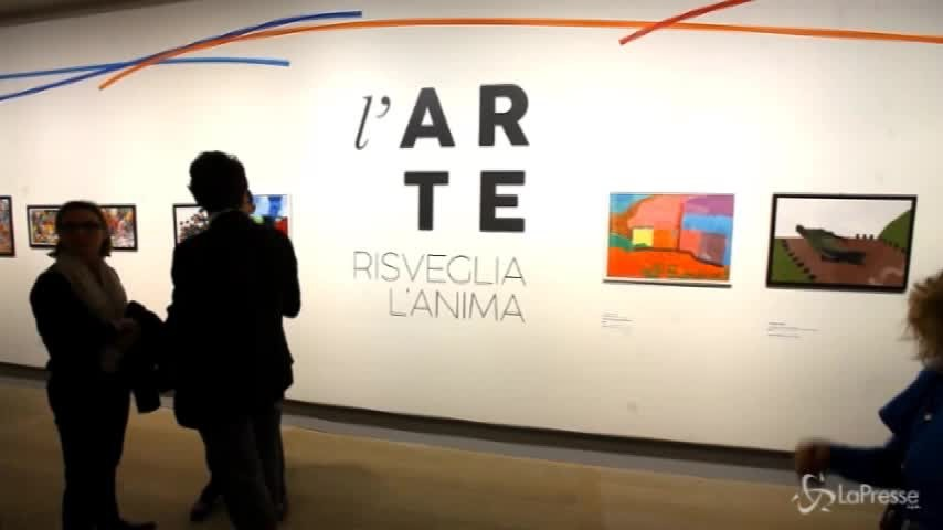 """""""L'arte risveglia l'anima"""": la mostra per l'integrazione degli autistici"""