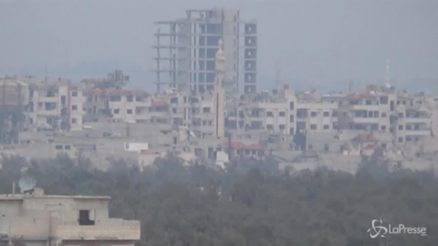 Ghouta, intesa con la Russia per evacuare i ribelli