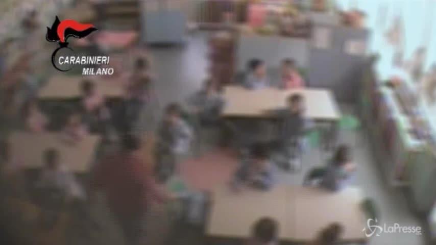 Schiaffi e insulti a bambini, arrestata maestra di Varedo
