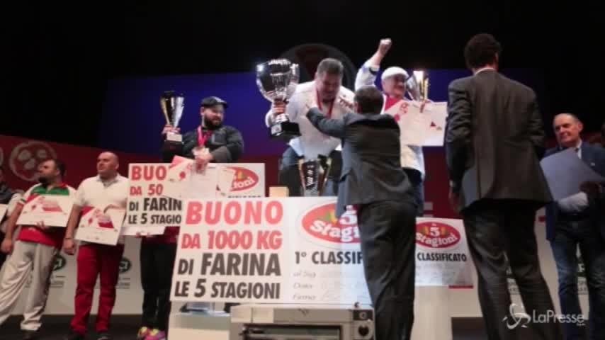 Campionato Mondiale della Pizza: Stefano Miozzo vince il premio speciale Parmigiano Reggiano