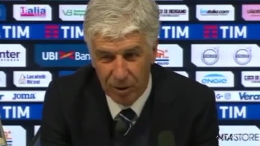 """Atalanta-Inter, Gasperini: """"Primo tempo notevole"""""""