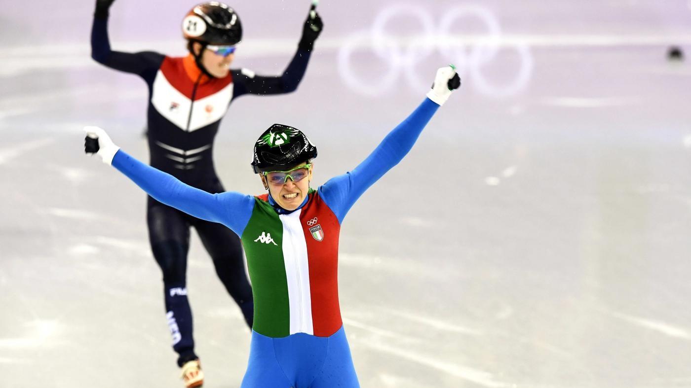 Olimpiadi, Italia da podio. Oro per Arianna Fontana e argento per Federico Pellegrino