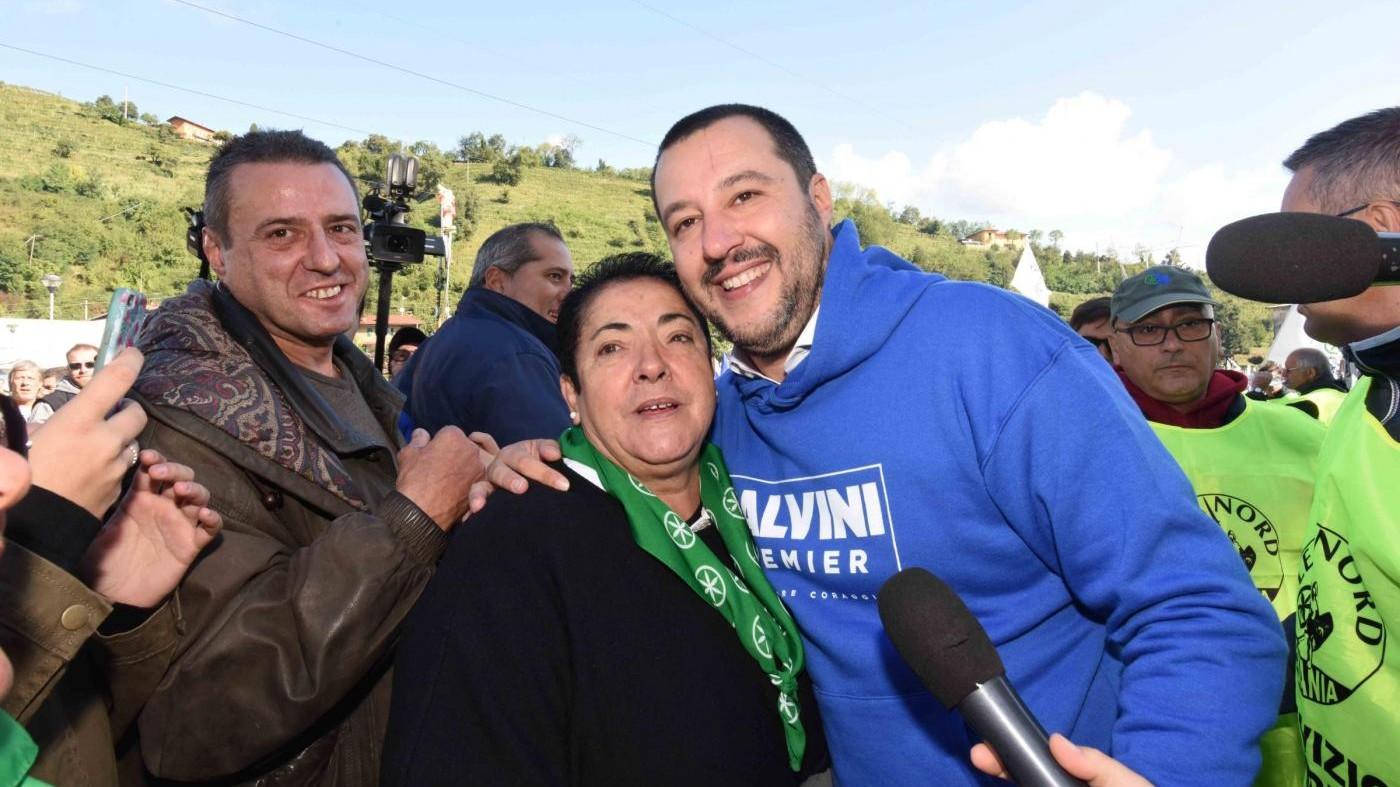 """Salvini, porta in faccia a Bossi: """"Visione diversa della Lega"""""""