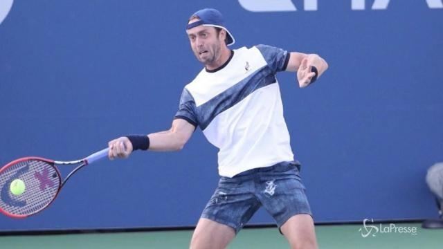 Tennis, agli Us Open finisce l'avventura di Lorenzi