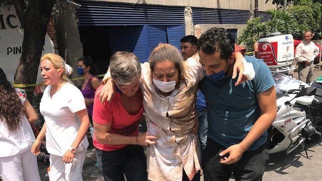 Scossa magnitudo 7 nel sud del Messico: bambini sotto le macerie, oltre 120 morti