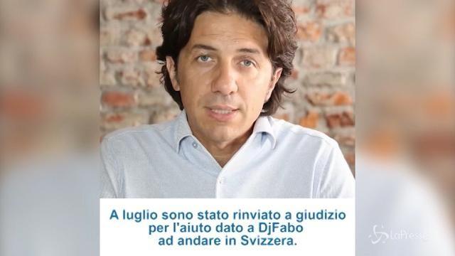 Morte Dj Fabo, il video di Marco Cappato in attesa del processo