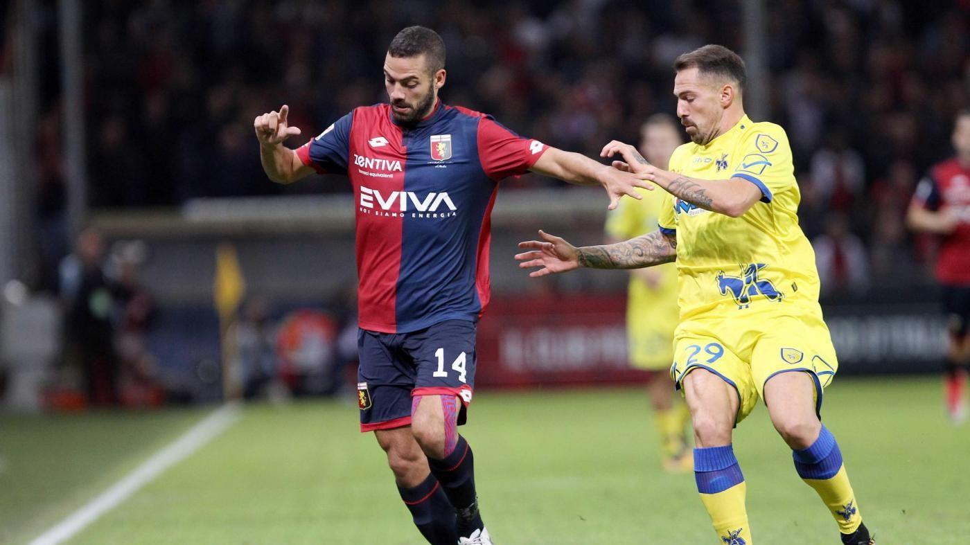 Serie A, Hetemaj replica a Laxalt, Genoa-Chievo 1-1