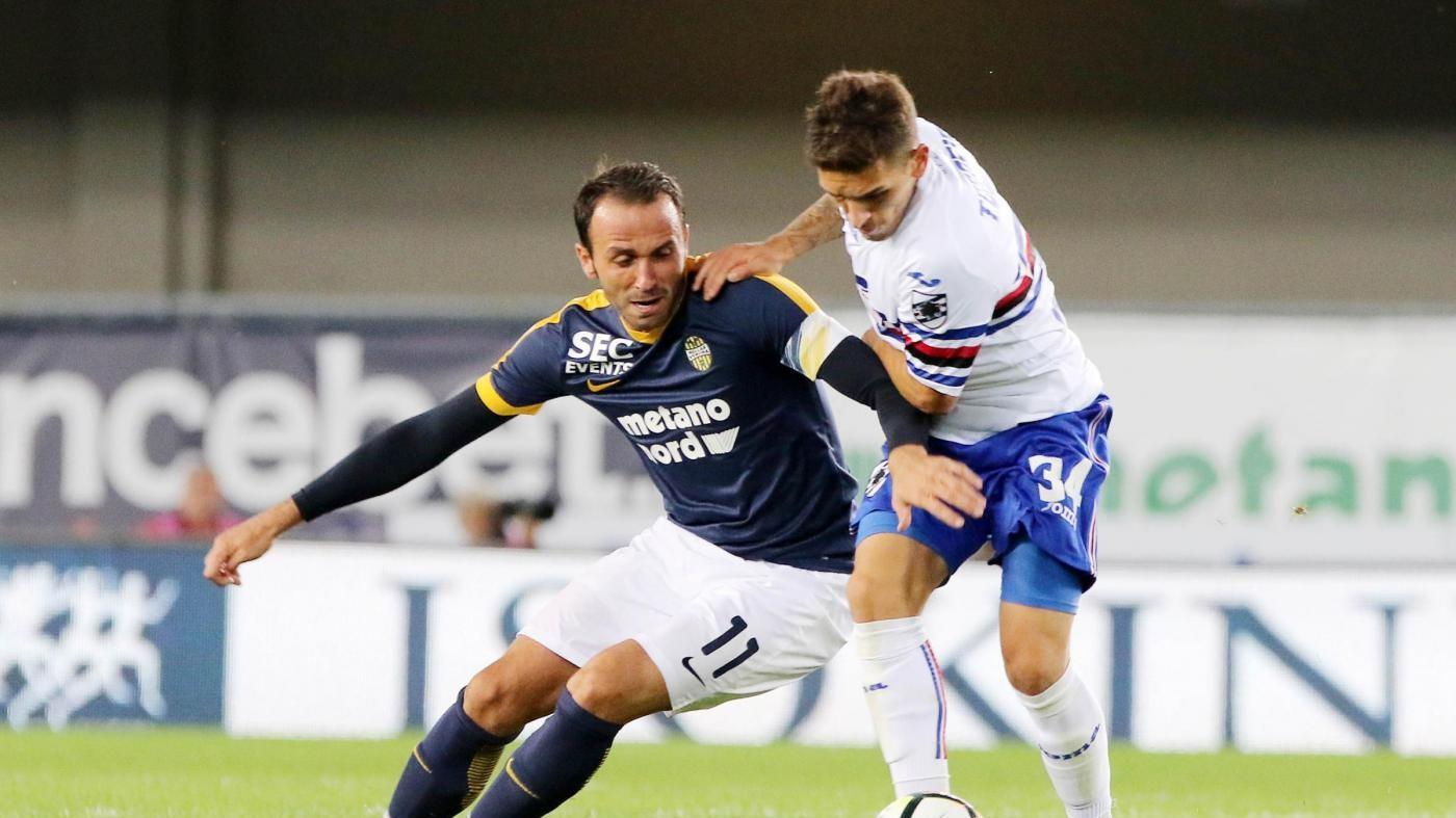 Serie A, emozioni ma nessun gol per Verona e Samp: finisce 0-0