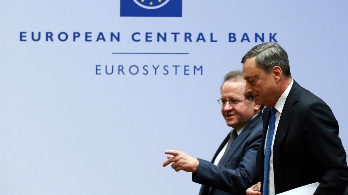 Bce rivede a rialzo Pil eurozona a +2,2% grazie a migranti