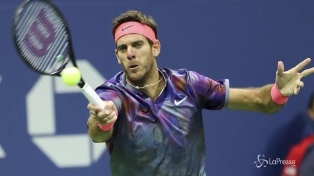 US Open: Del Potro elimina Federer nei quarti